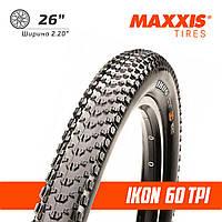 "Maxxis 26"" Ikon Велосипедная покрышка 60 tpi плотность 2.2"" ширина"