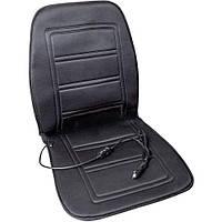 Накидка на сиденье с подогревом Lavita LA 140401BK черная