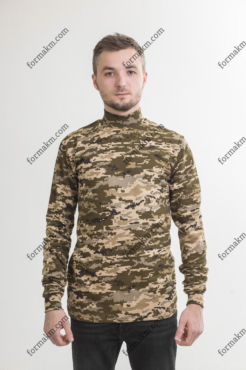 Гольф Камуфляжный Военный Зимний ЗСУ Пиксель ММ-14