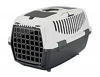 Перенесення для кішок і собак Trixie Capri, 55х37х34см, до 8 кг, 39821(сіра)