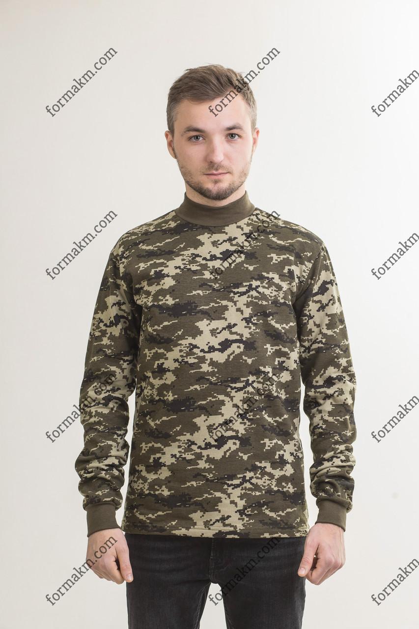 Гольф Камуфляжный Военный Зимний Пограничник