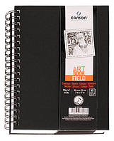 Альбом спираль 12,5*18см для графики Canson Field 96г/м 90л. CON-200777606R