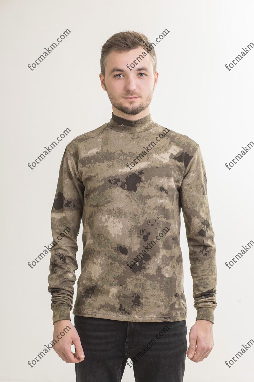 Гольф Камуфляжный Военный Зимний АТАКС