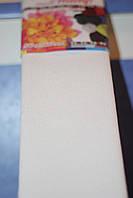 Бумага для творчества разноцветная гофрированная (крепированная) 2000*500мм. Цвет белый.