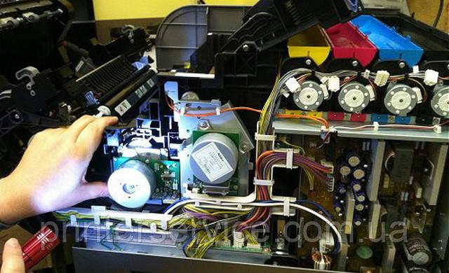 Ремонт цветного лазерного принтера