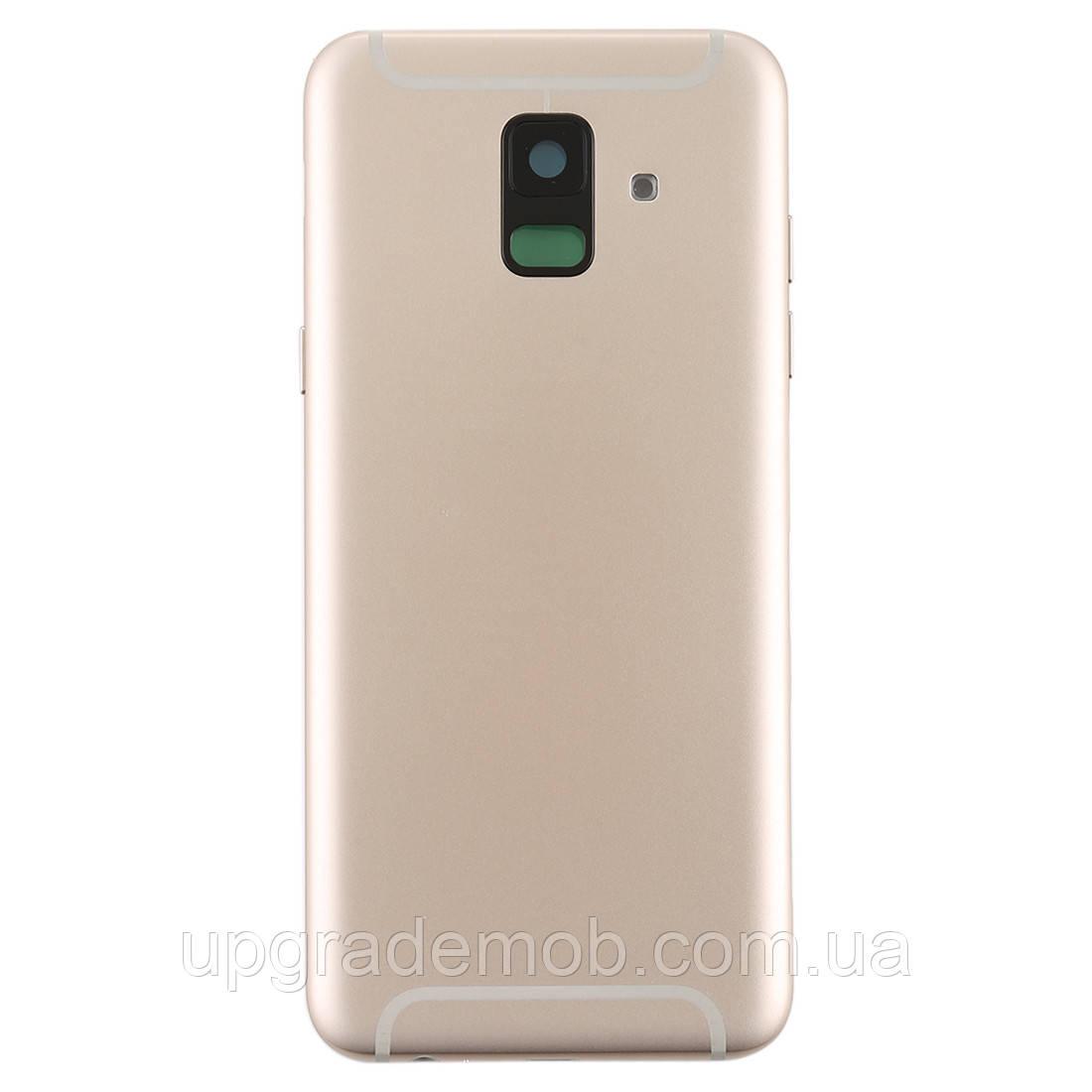 Задняя крышка Samsung A600F Dual Galaxy A6 (2018) золотистая оригинал