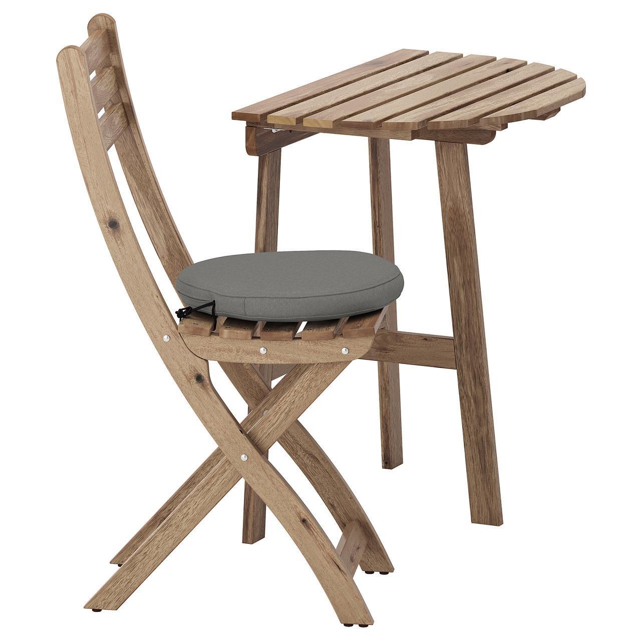 Стол и кресло ASKHOLMEN