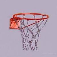 Сетка баскетбольная металлическая (цепь) 12 петель
