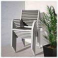 Стол и 4 кресла SJALLAND стекло, фото 4