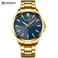 Часы Curren 8322 Gold-Blue