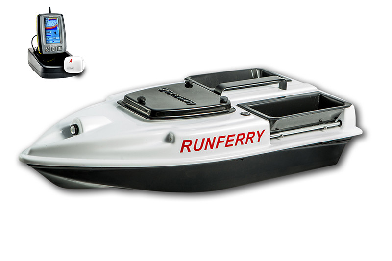 Карповый кораблик Camarad V3 + Toslon TF500 White