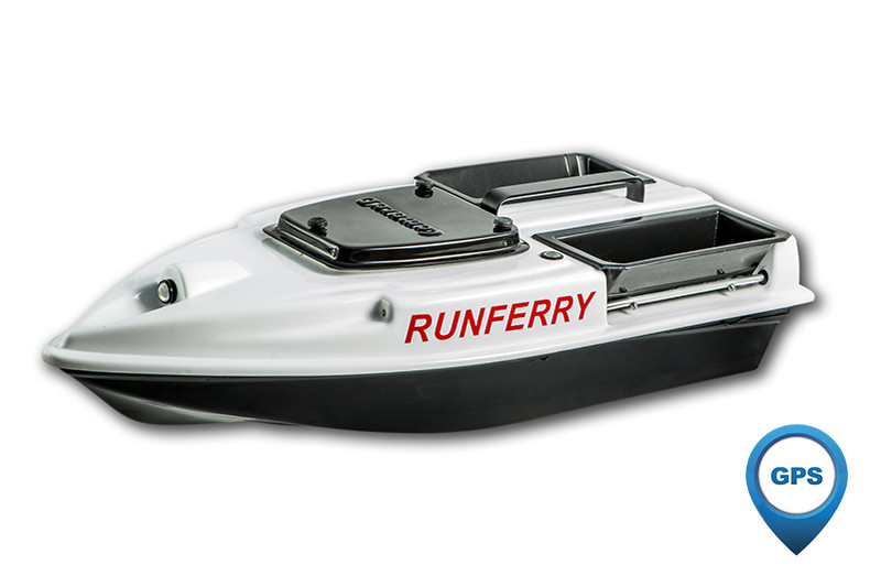Карповый кораблик Camarad V3 GPS White