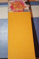 Бумага для творчества разноцветная гофрированная (крепированная) 2000*500мм. Цвет песочный.