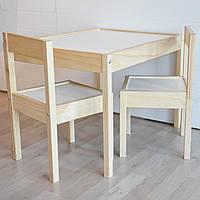 Детский стол и 2 стула LATT