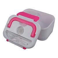Контейнер для еды ланч бокс термос для еды с подогревом Tina Lunch Box от прикуривателя 12В