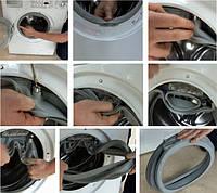 Как самостоятельно заменить уплотнитель на люке стиральной машины
