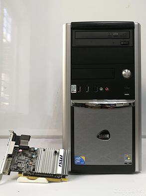 EuroCom Tower / Intel Core i3-2100 (2 (4) ядра по 3.10 GHz) / 4 GB DDR3 / 120 GB SSD NEW / nVidia GeForce 210, 1 GB GDDR3, 64-bit, фото 2