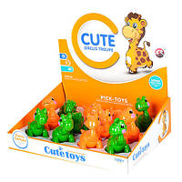 Детская игрушка для самых маленьких Динозаврик