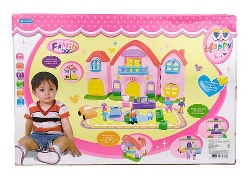Кукольный дом SL325161 с куклами, мебелью, фото 2
