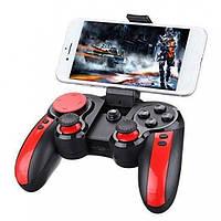 Геймпад беспроводной игровой манипулятор джойстик Terios Gen Game S5 Plus Чёрно-красный (S5)