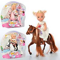 """Игровой набор для девочки """"Кукла-пупс на лошадке"""" (3 разных вида)"""