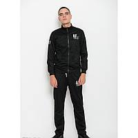 Спортивный костюм ISSA PLUS GN-04 черный - Оригинал