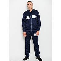 Спортивный костюм ISSA PLUS GN-02 темно-синий - Оригинал