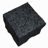 Гранит брусчатка черная габро
