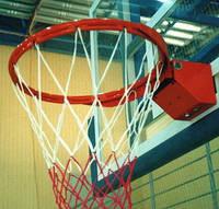 Корзина баскетбольная амортизационная клубная с сеткой по требованиям ФИБА