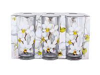 Набор стаканов ОСЗ Белая орхидея 200 мл 6 шт 05c1256 G 86002749