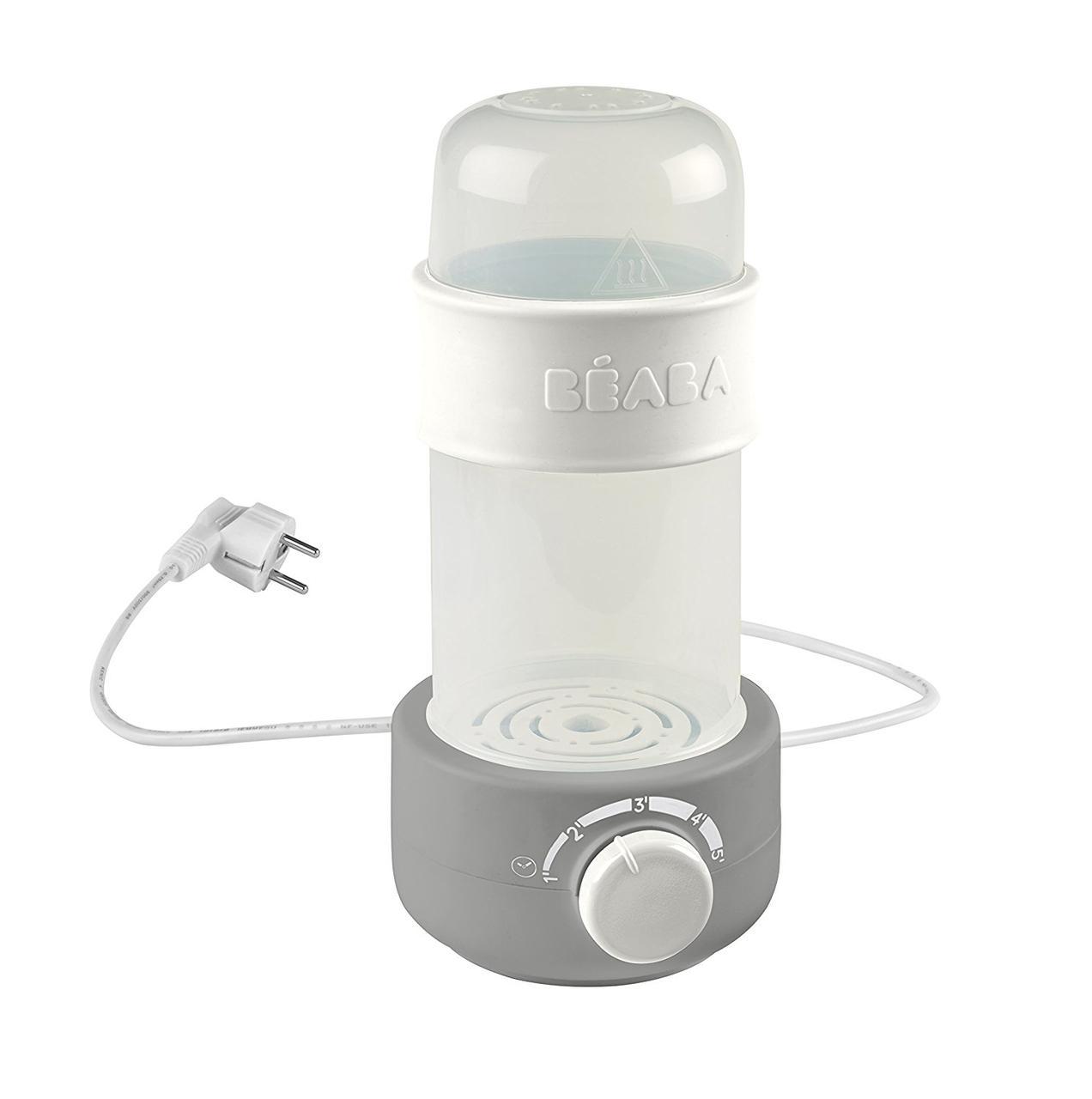 Паровий підігрівач для пляшечок і баночок Beaba Baby Milk Second grey, арт. 911620