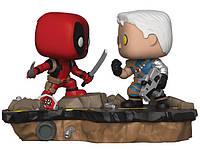 Фигурка Funko Pop Marvel Comic Moments - Deadpool vs Cable Дэдпул против Кэйбла SKL38-222258