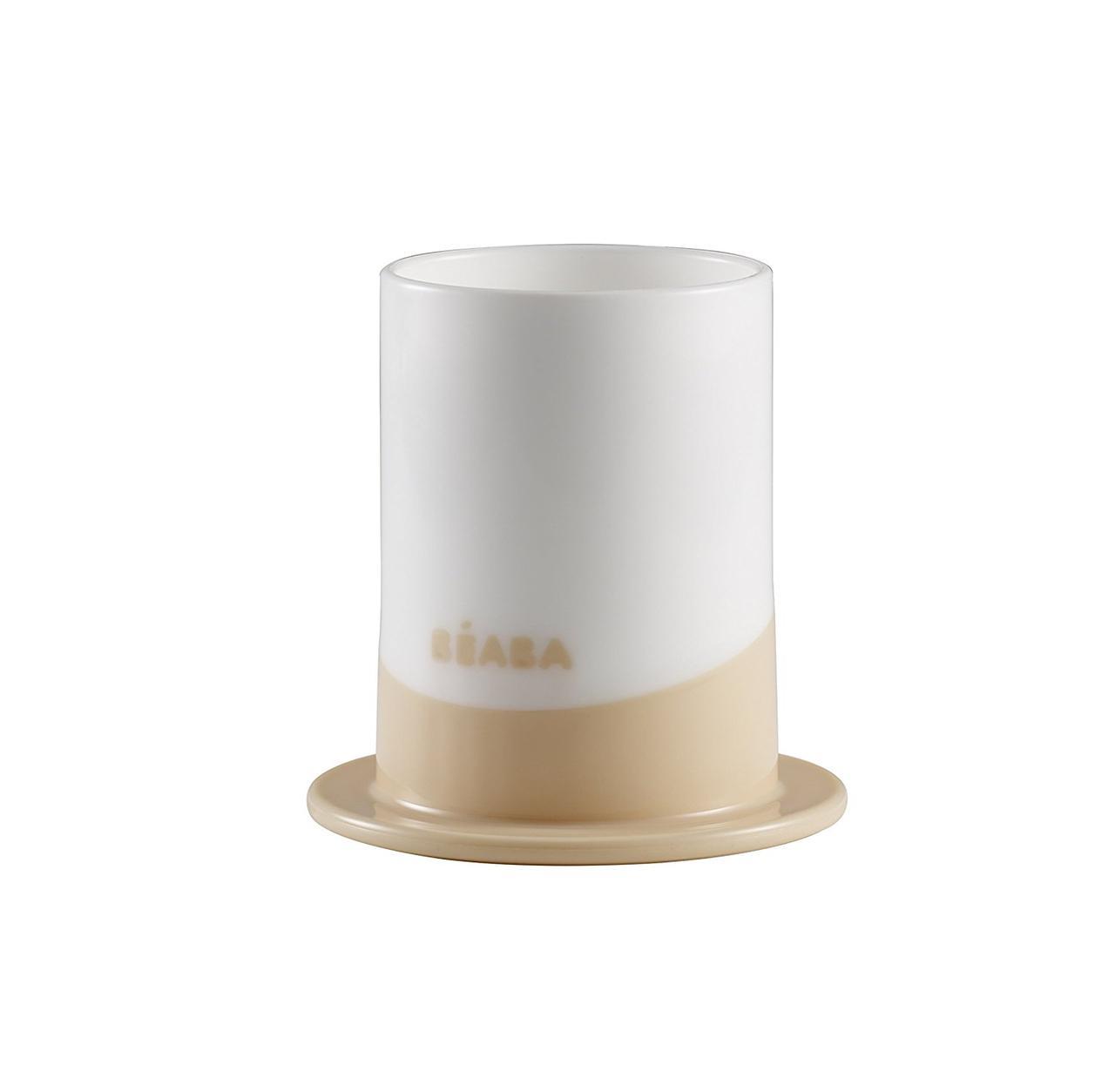 Пластиковый стакан Beaba Ellipse Glass nude, арт. 913389