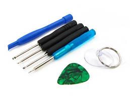 Набор инструментов AIDA 7в1 (отвёртки: Y0.6, пенталоб 0.8, -2.0, +1.2 лопатка, медиатор, присоска)