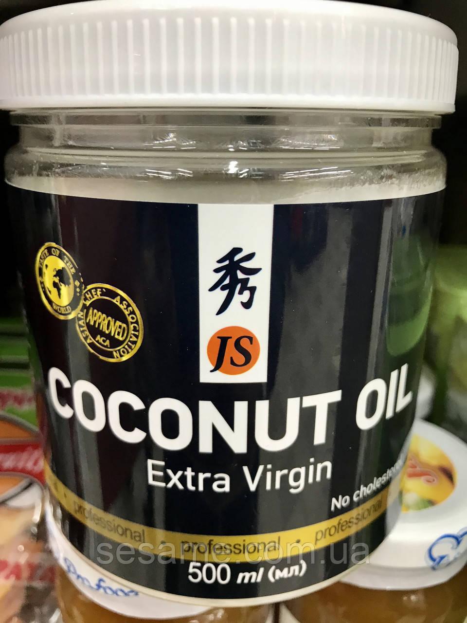 Натуральное кокосовое масло холодного отжима Extra Virgin 500 (Вьетнам)