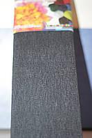 Бумага для творчества разноцветная гофрированная (крепированная) 2000*500мм. Цвет черный.