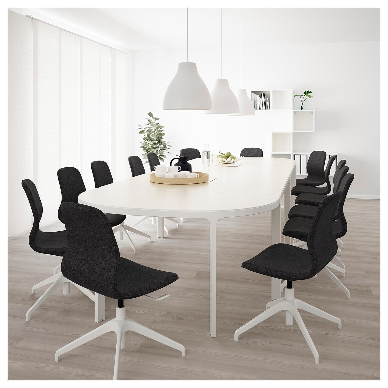 Конференц-стол BEKANT 420х140 см