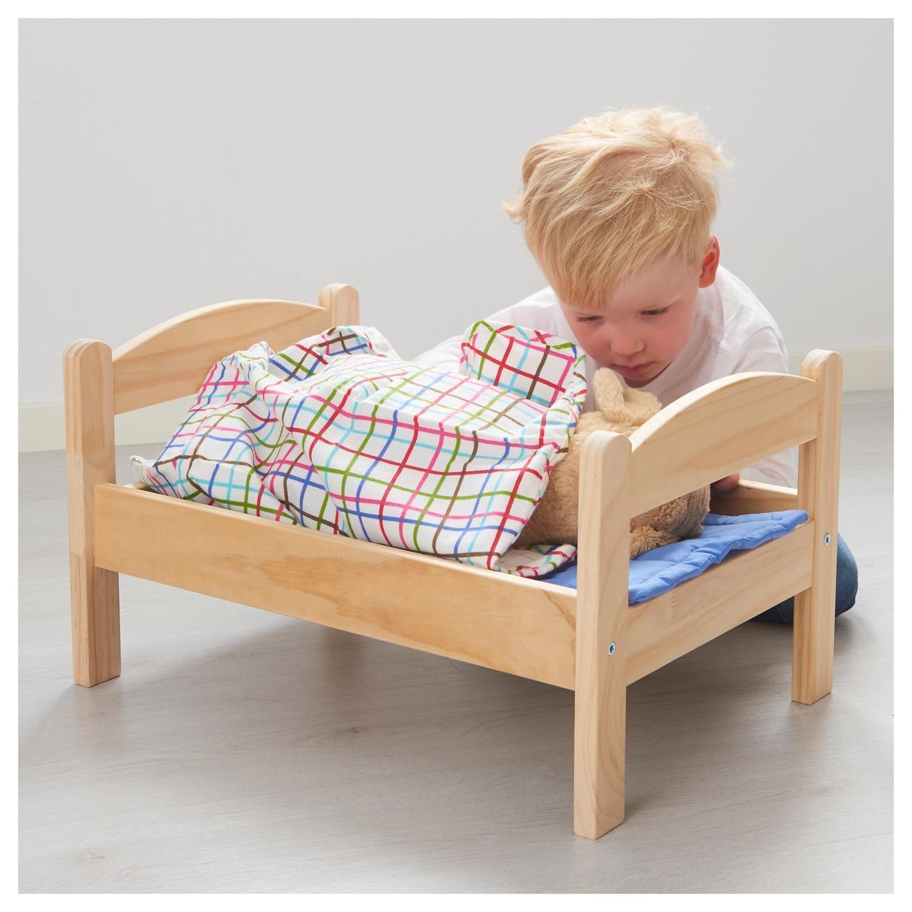 Кровать для куклы DUKTIG