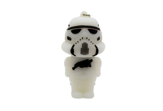 """Флешка-игрушка """"Звездные войны, Штурмовик(белый)"""" 32 Гб, фото 2"""