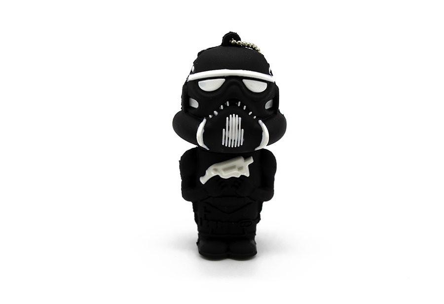 """Флешка-игрушка """"Звездные войны, Штурмовик(чёрный)"""" 32 Гб"""