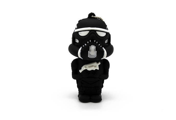 """Флешка-игрушка """"Звездные войны, Штурмовик(чёрный)"""" 32 Гб, фото 2"""