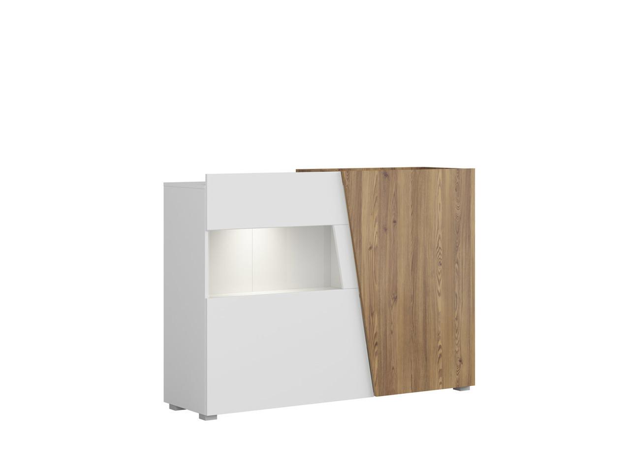 Шкаф-витрина Rauma 150х107 см