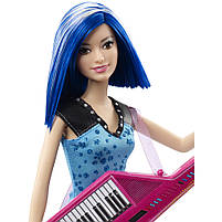 Кукла Барби Зия с клавишной гитарой Рок-принцесса / Barbie in Rock 'n Royals Zia Doll and Keyboard Guitar, фото 2