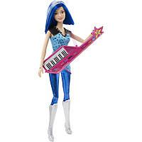 Кукла Барби Зия с клавишной гитарой Рок-принцесса / Barbie in Rock 'n Royals Zia Doll and Keyboard Guitar