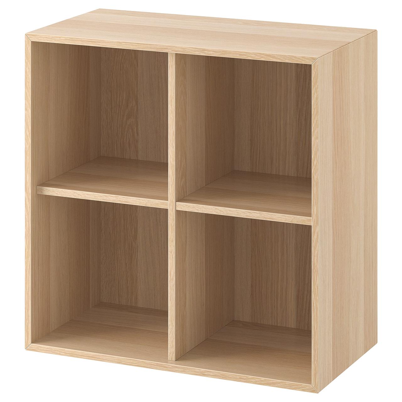 Навесной шкафчик 4-отделения EKET 70x35x70 см
