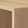 Навесной шкафчик 4-отделения EKET 70x35x70 см, фото 2