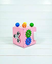 Развивающая игрушка Mini Busy Cube Tornado Розовая (hub_vVSs52409)