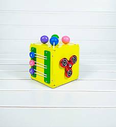 Развивающая игрушка Mini Busy Cube Tornado Желтая (hub_aoLv66849)
