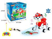 Интерактивная собака Щенячий Патруль - Маршал - 5566-4 на пульте управления со световыми и музыкальными эффектами детская интерактивная игрушка на