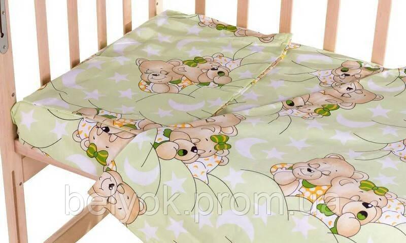 Сменное постельное белье в детскую кроватку 3 в1 для мальчика - фото 8